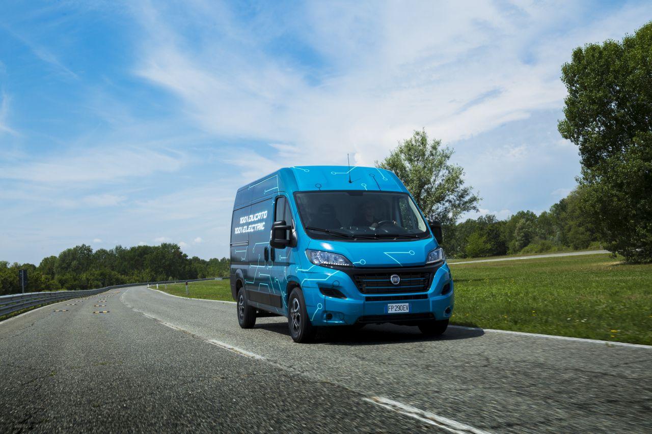 Fiati uus kaubik on varustatud 9-käigulise automaatse käigukastiga
